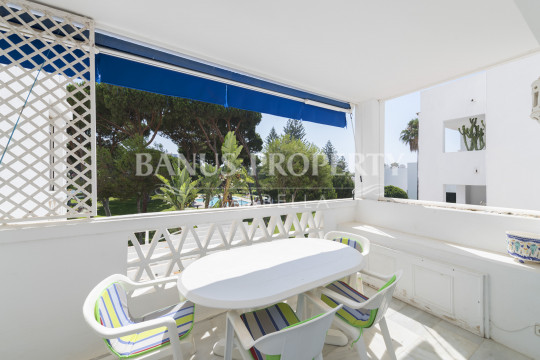 Marbella - Puerto Banus, Two-bedroom apartment for sale in Casas Córdoba, within prestigious Playas del Duque in Puerto Banús