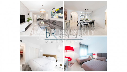 Marbella - Puerto Banus, Modern 2 bedroom apartment in Las Gaviotas - Puerto Banús