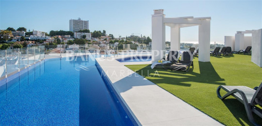 Nueva Andalucia, Luxury newly built two bedroom penthouse apartment for sale just five minutes' drive to Puerto Banús