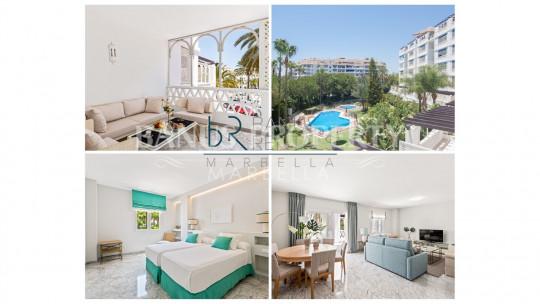 Marbella - Puerto Banus, 2 Bedrooms apartment in Las Gaviotas - Puerto Banús
