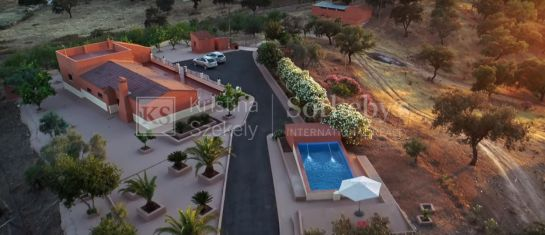 Exclusive property in the heart of the Andévalo County, Huelva.