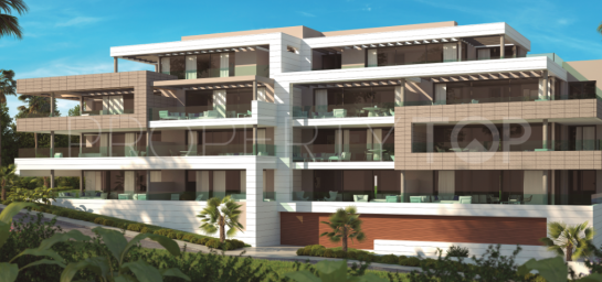 For sale apartment with 2 bedrooms in New Golden Mile, Estepona