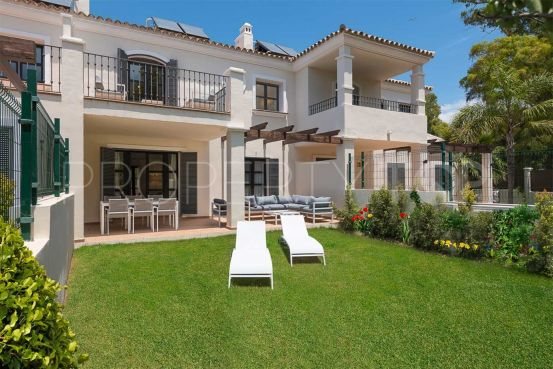 For sale town house with 4 bedrooms in Guadalmina Baja, San Pedro de Alcantara | Marbella Hills Homes