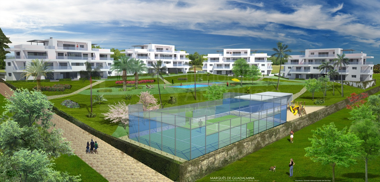 Nuevo apartamento de 2 dormitorios en venta en Benahavis