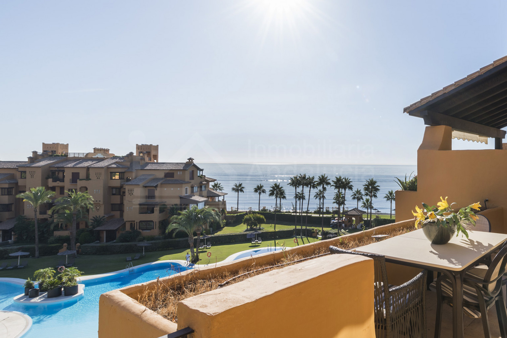 Luxury sea views apartment for sale at Granados del Mar, Estepona