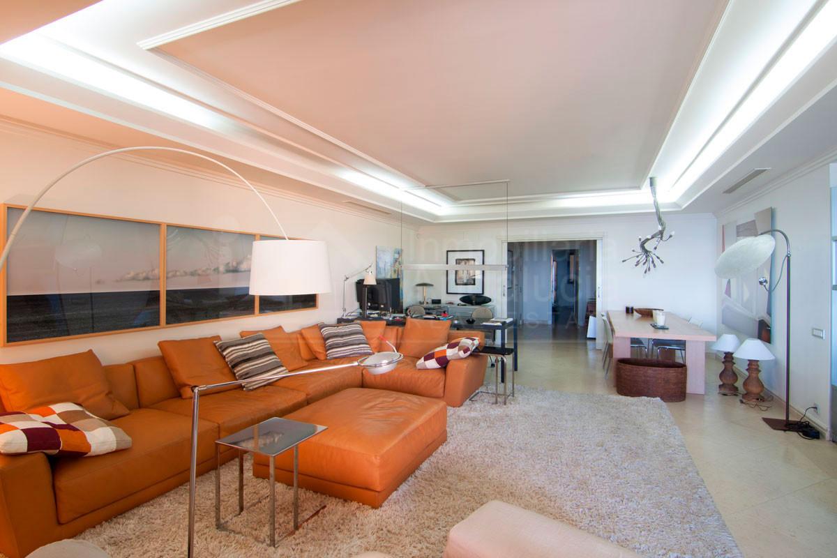 Quality three-bed ground floor south facing beachfront apartment for sale in Los Granados del Mar, Estepona
