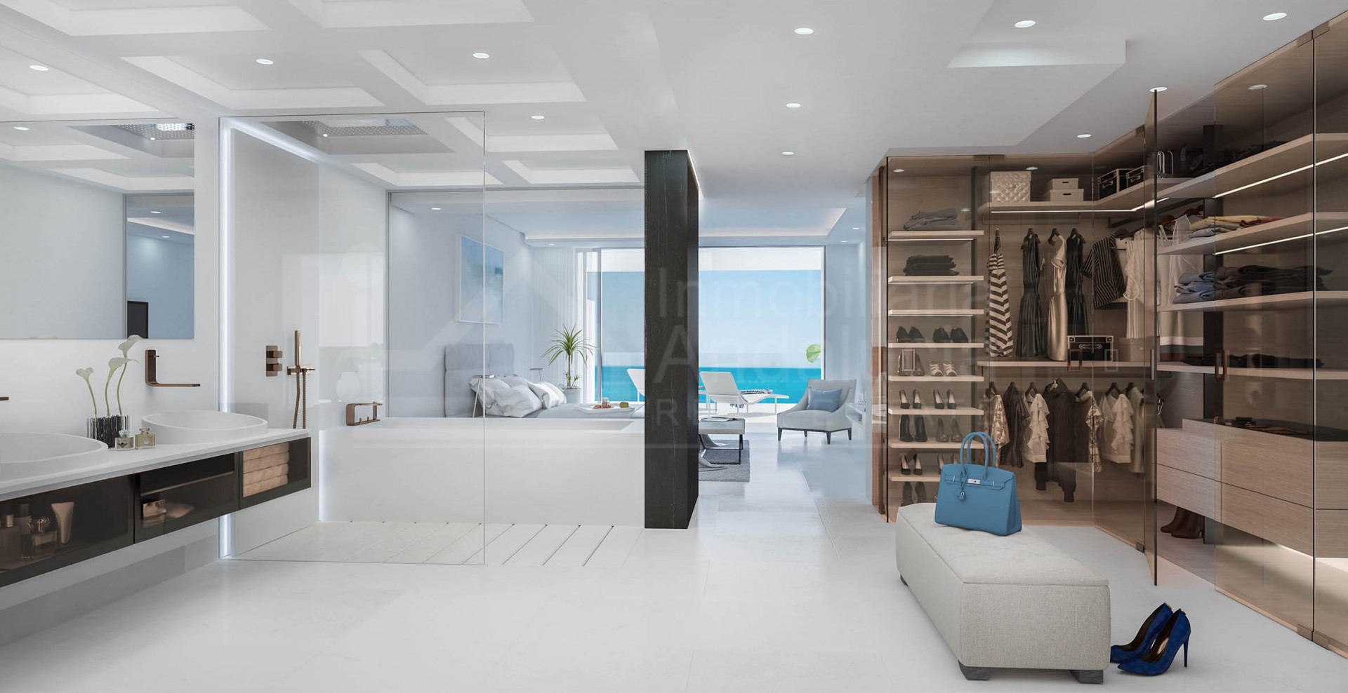 Brand new ultra-modern four-bedroom penthouse apartment for sale in the New Golden Mile
