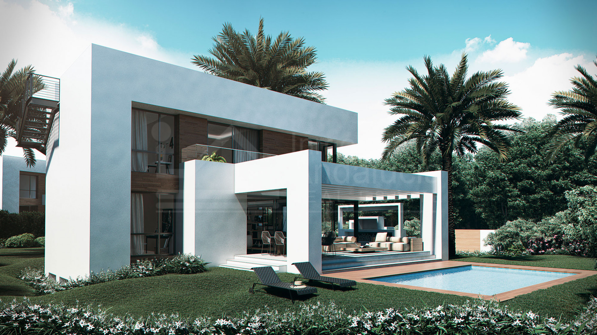 Immaculate and truly unique contemporary 4-bedroom villa for sale in El Paraiso, Estepona