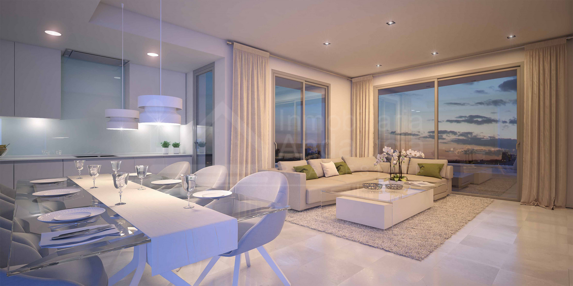 New contemporary 3 bedroom apartment for sale on the New Golden Mile