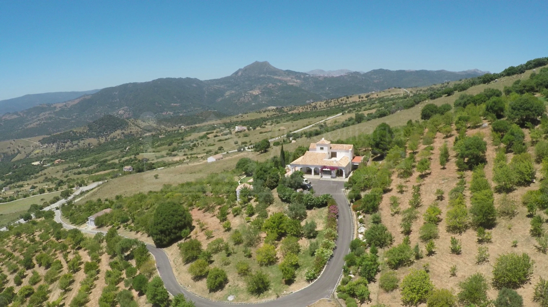 Charming 4-bedroom country villa and 240.000m2 farm ideal for equestrian activities for sale in Casares