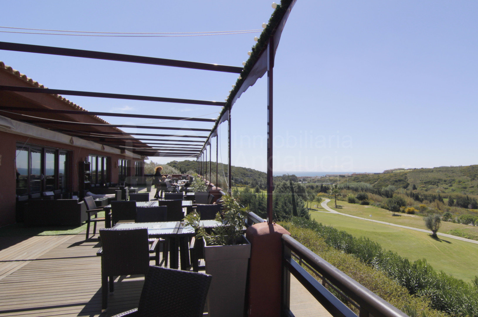 1.000m2 golf villa plot for sale with permission to build in Casares