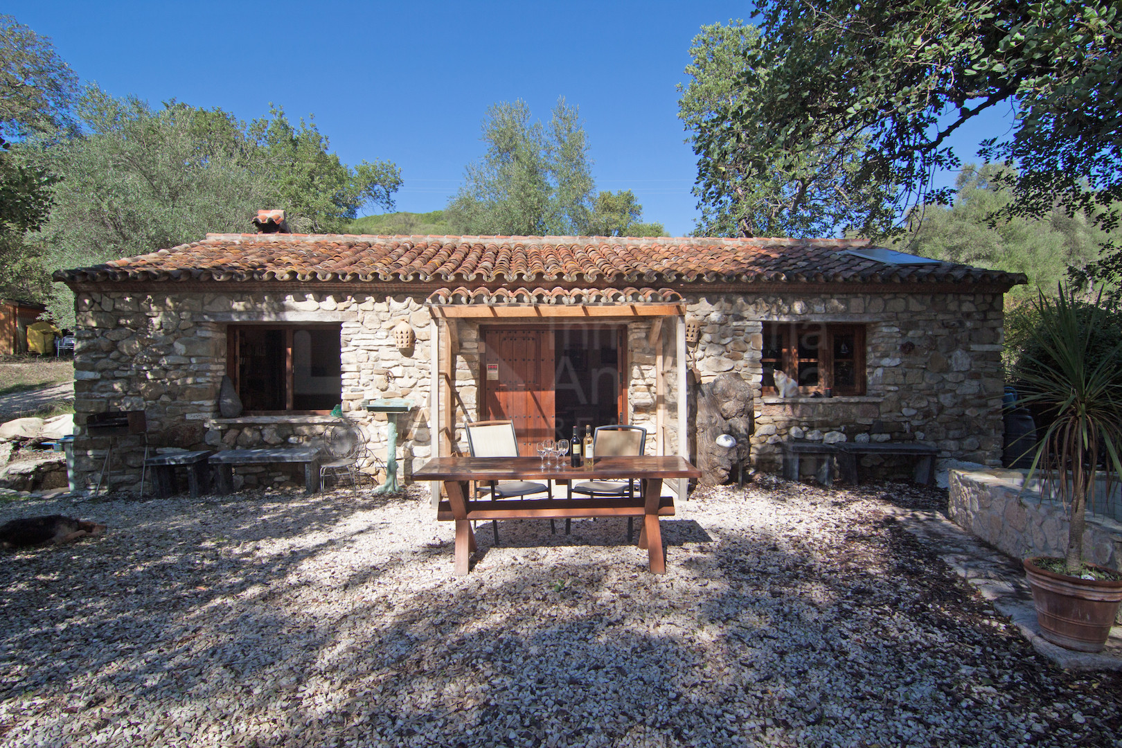 2  bedroom stone and wood built country cottage for sale in Genal Valley, Gaucin
