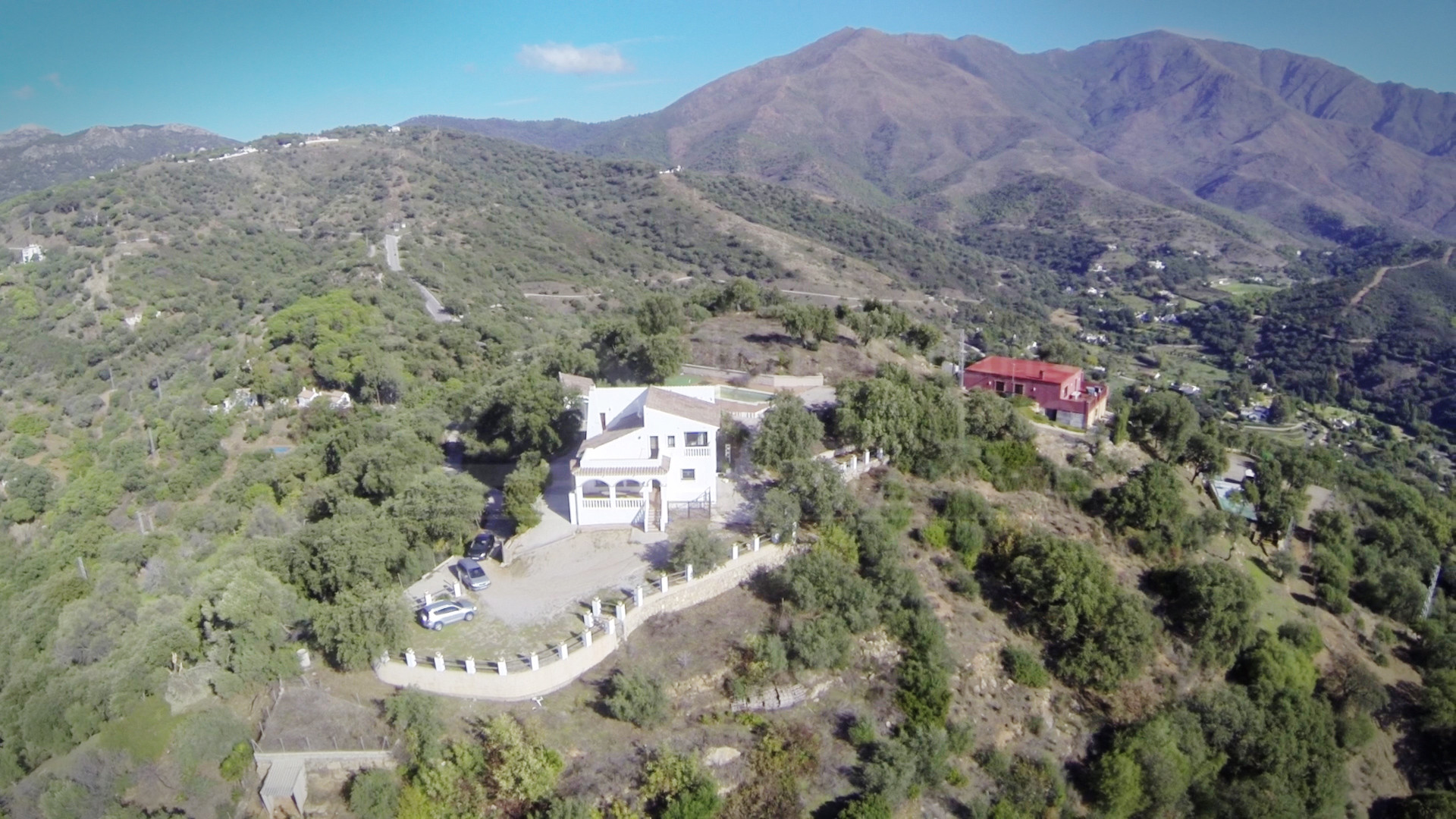 5 bedroom country house with fabulous country & coastal views for sale in Casares