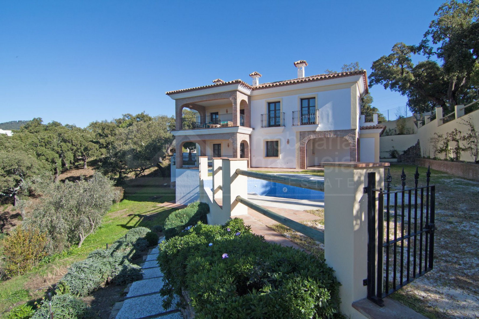 Brand new house for sale in beautiful mountainside location in La Celima Casares