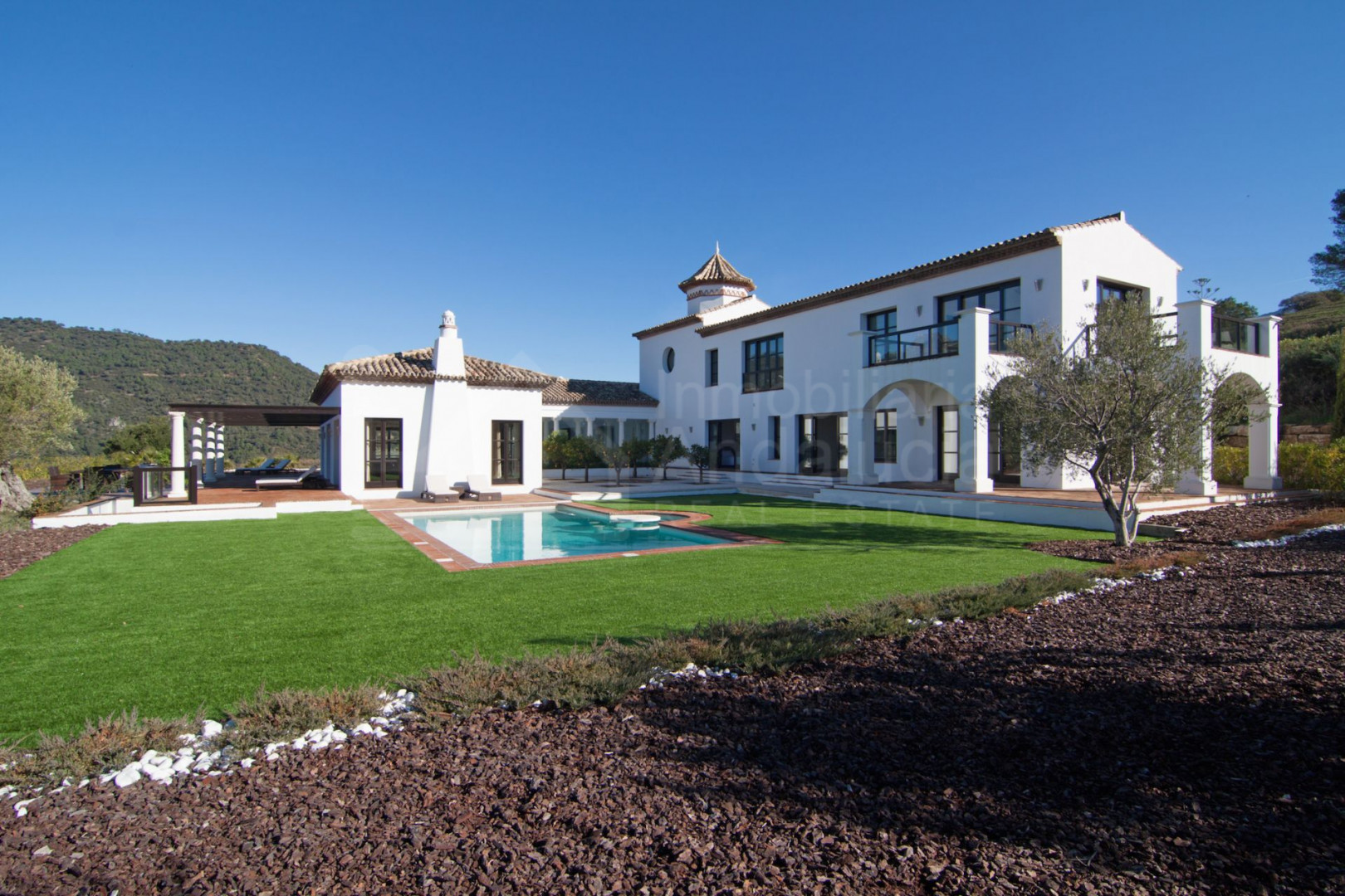 Spectacular new country villa ideal for horses for sale between Casares and Gaucin
