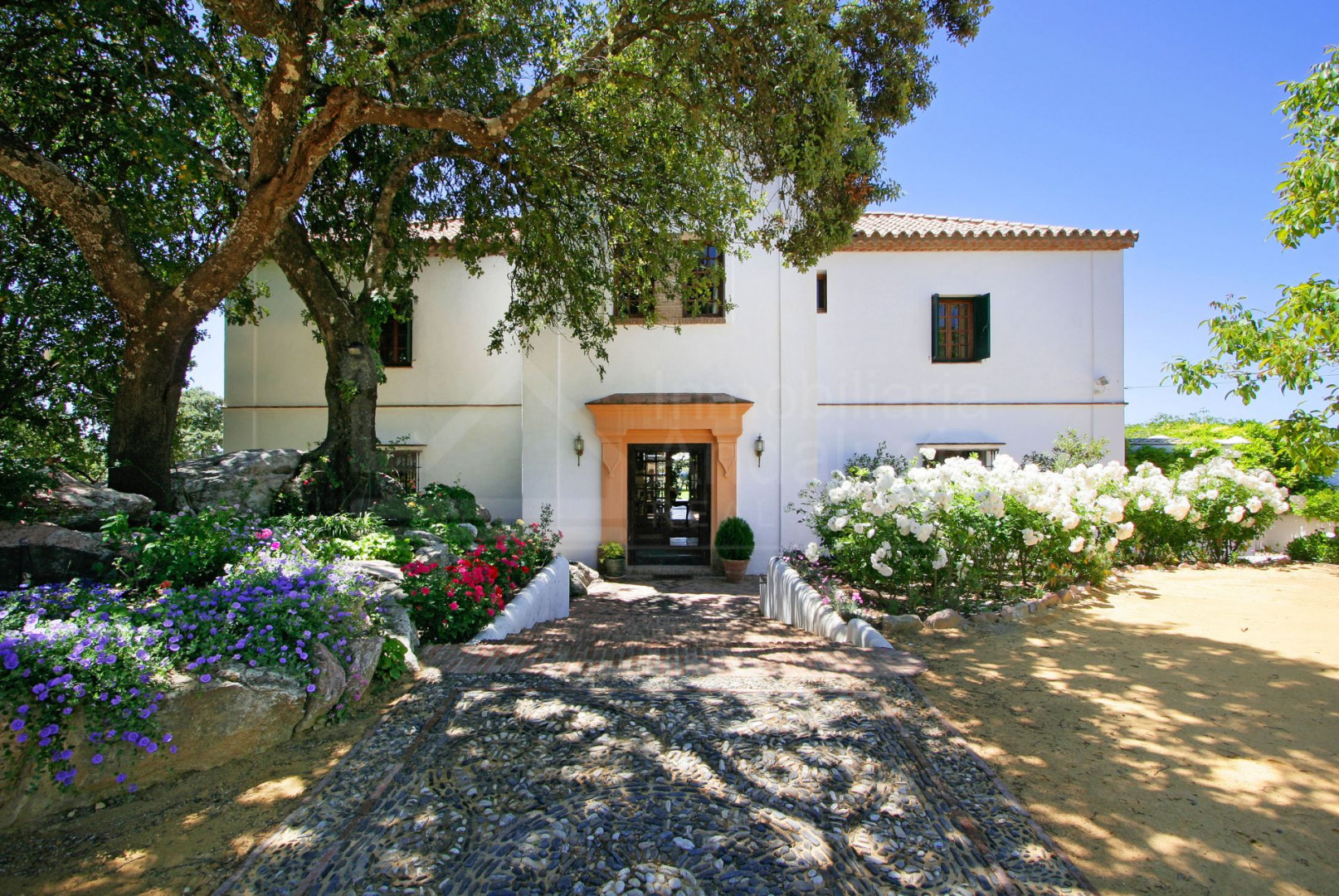 Elegant and luxurious country house with huge plot of land in beautiful area for sale in Gaucin