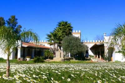 Medina Sidonia, Andalucian Cortijo-style rural hotel restaurant for sale in Medina Sidonia