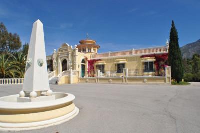 Marbella Golden Mile, 9 bedroom Finca-style villa for sale in Rio Verde Marbella