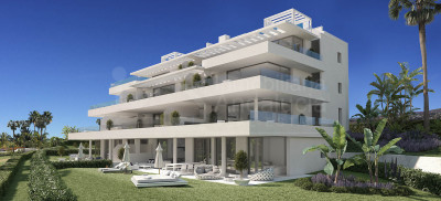 Estepona, Brand new modern two-bedroom apartment for sale on Marbella's New Golden Mile