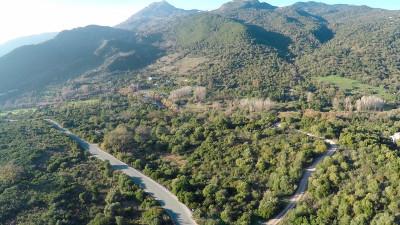 Gaucin, 67.000m2 of plot close to the Genal River in Gaucin