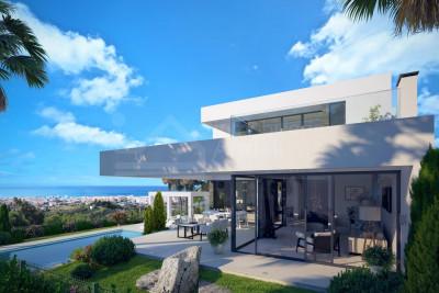 Benahavis, Brand new contemporary four-bedroom villa for sale in Mirador del Paraiso, Benahavis
