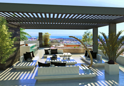 Estepona, State-of-the-art three bedroom south-facing villa for sale in Estepona