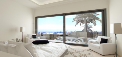 Estepona, New luxury contemporary 3-bedroom villa for sale in Estepona
