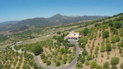 Casares, Charming 4-bedroom country villa and 240.000m2 farm ideal for equestrian activities for sale in Casares