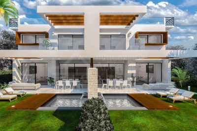 Estepona, New contemporary style 3-bedroom luxury villa for sale in Estepona