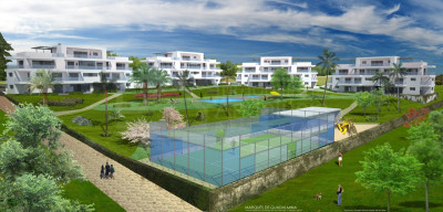 Estepona, Brand new 2 bedroom 2nd floor luxury apartment for sale in Benahavis