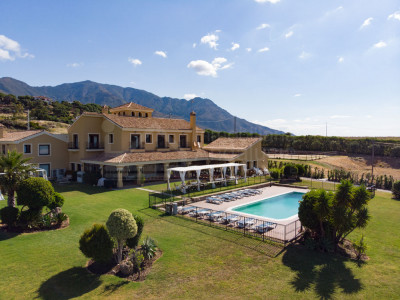Casares, Typically 'Andalucian Cortijo style' country house ideal for equestrian activities for sale situated five minutes' drive from the coastline in Casares