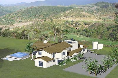 Benahavis, 5.497m2 plot plus villa building project for sale La Zagaleta Benahavis