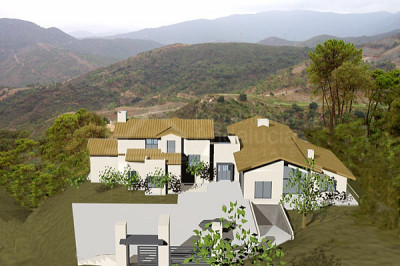 Benahavis, Large plot plus villa building project for sale in La Zagaleta Benahavis