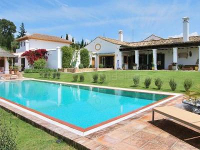 Sotogrande, 20 hectare country villa ideal for horses for sale San Martin del Tesorio