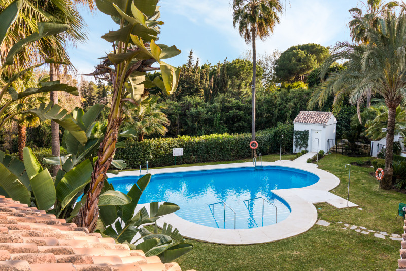 Appartement op de begane grond in Marbella Golden Mile