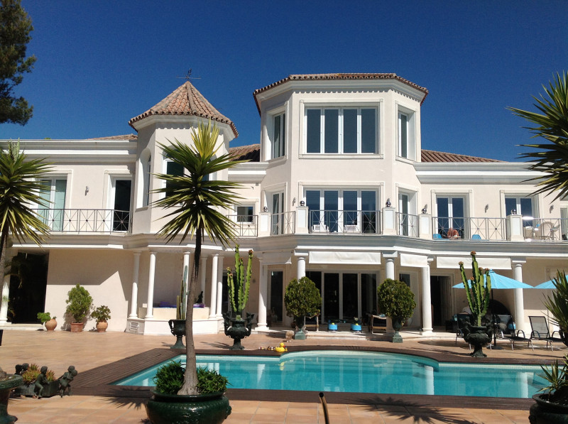 Excentrieke luxevilla in Benehavis