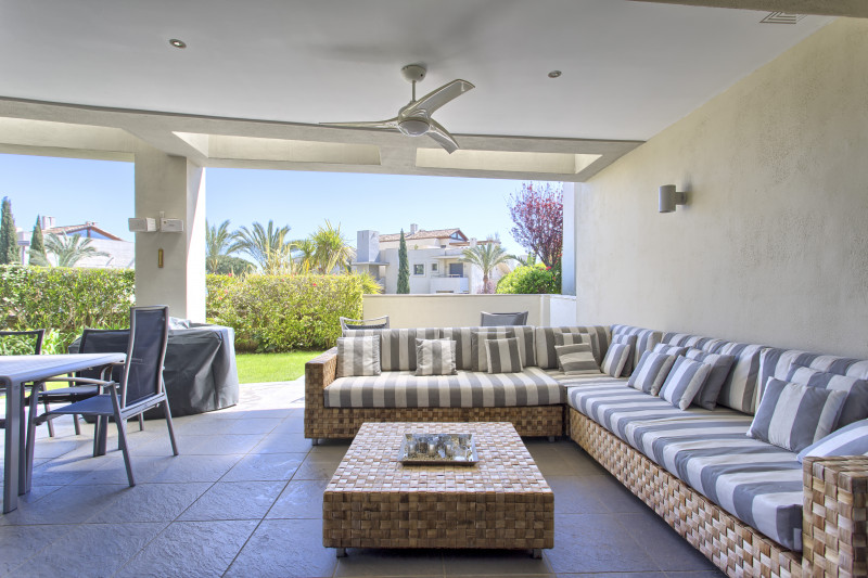 Ground Floor Apartment in Marbella Golden Mile