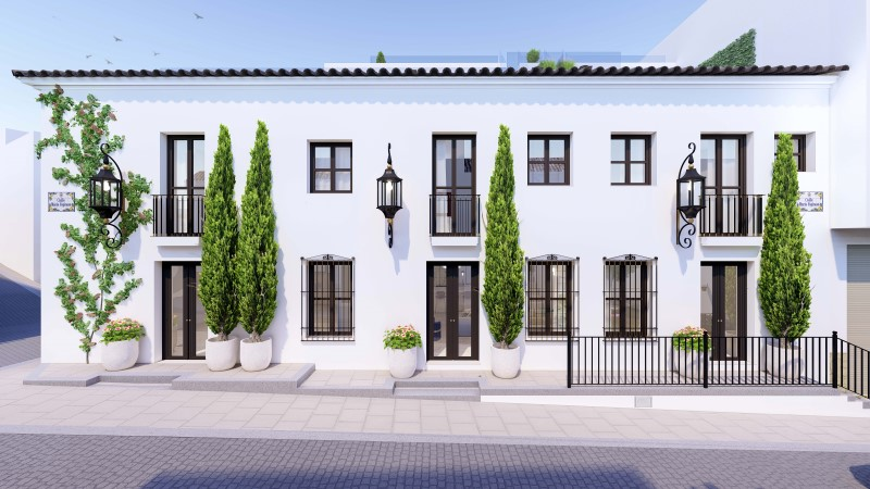 Townhouse in Estepona Centro
