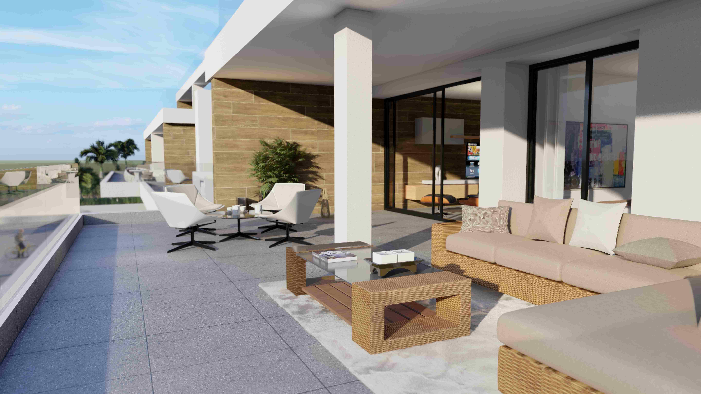 Penthouse i Villamartin
