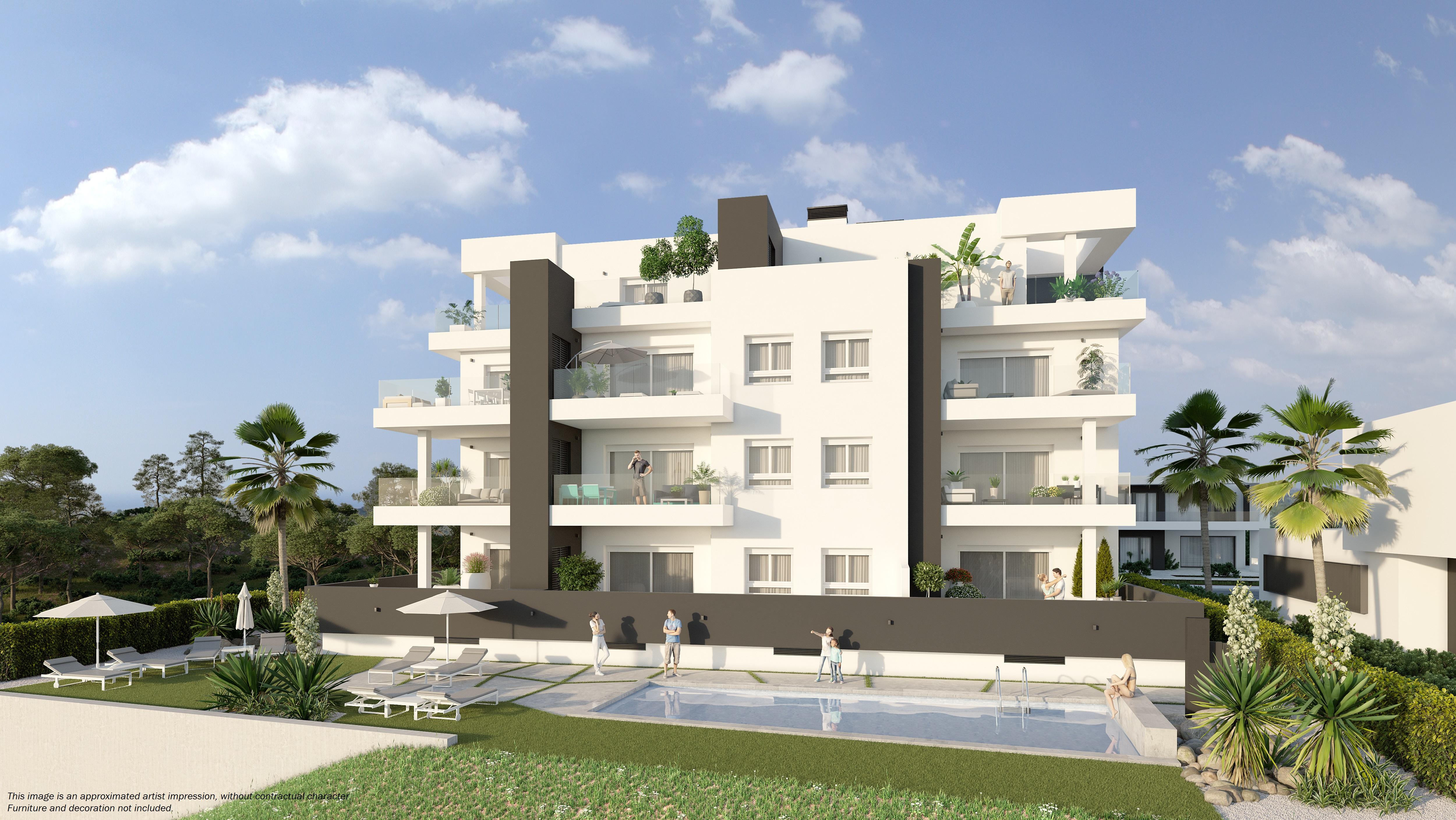 Lägenhet i Villamartin