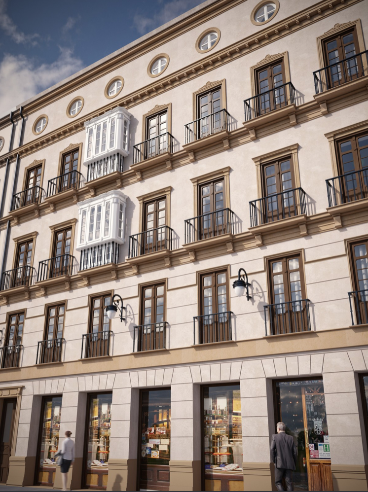 Penthouse i Malaga - Centro