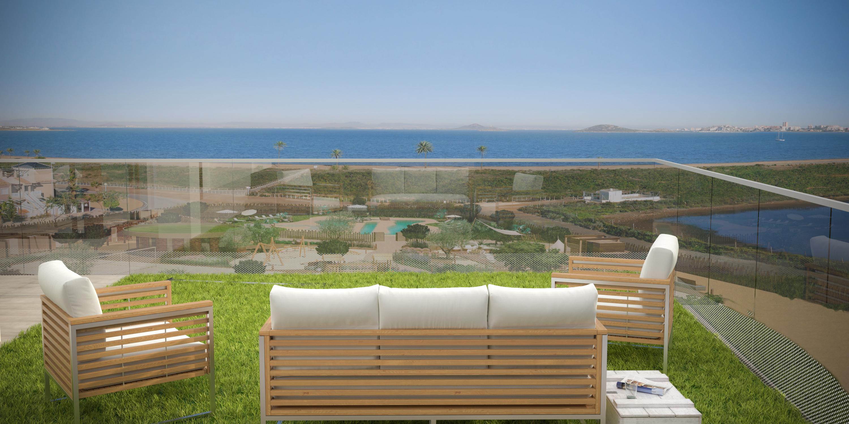 Lägenhet i La Manga del Mar Menor