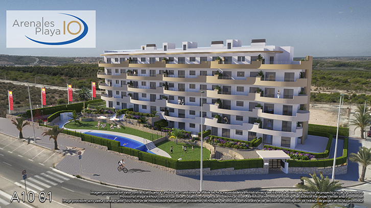 Lägenhet i Arenales del Sol