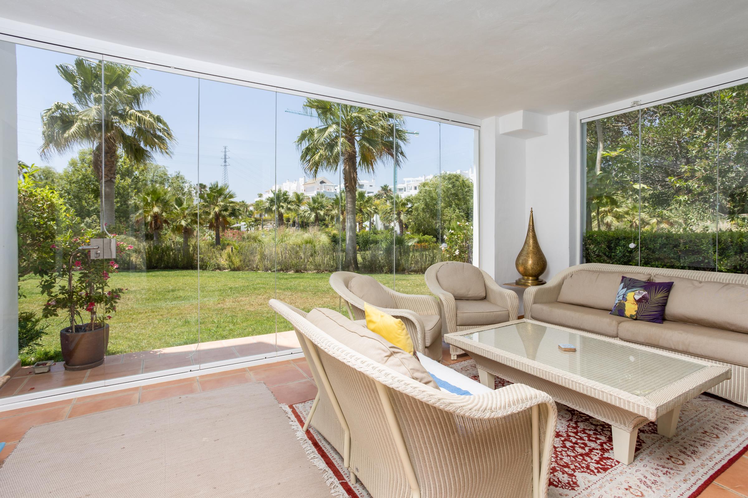 Lägenhet i Alcazaba Lagoon