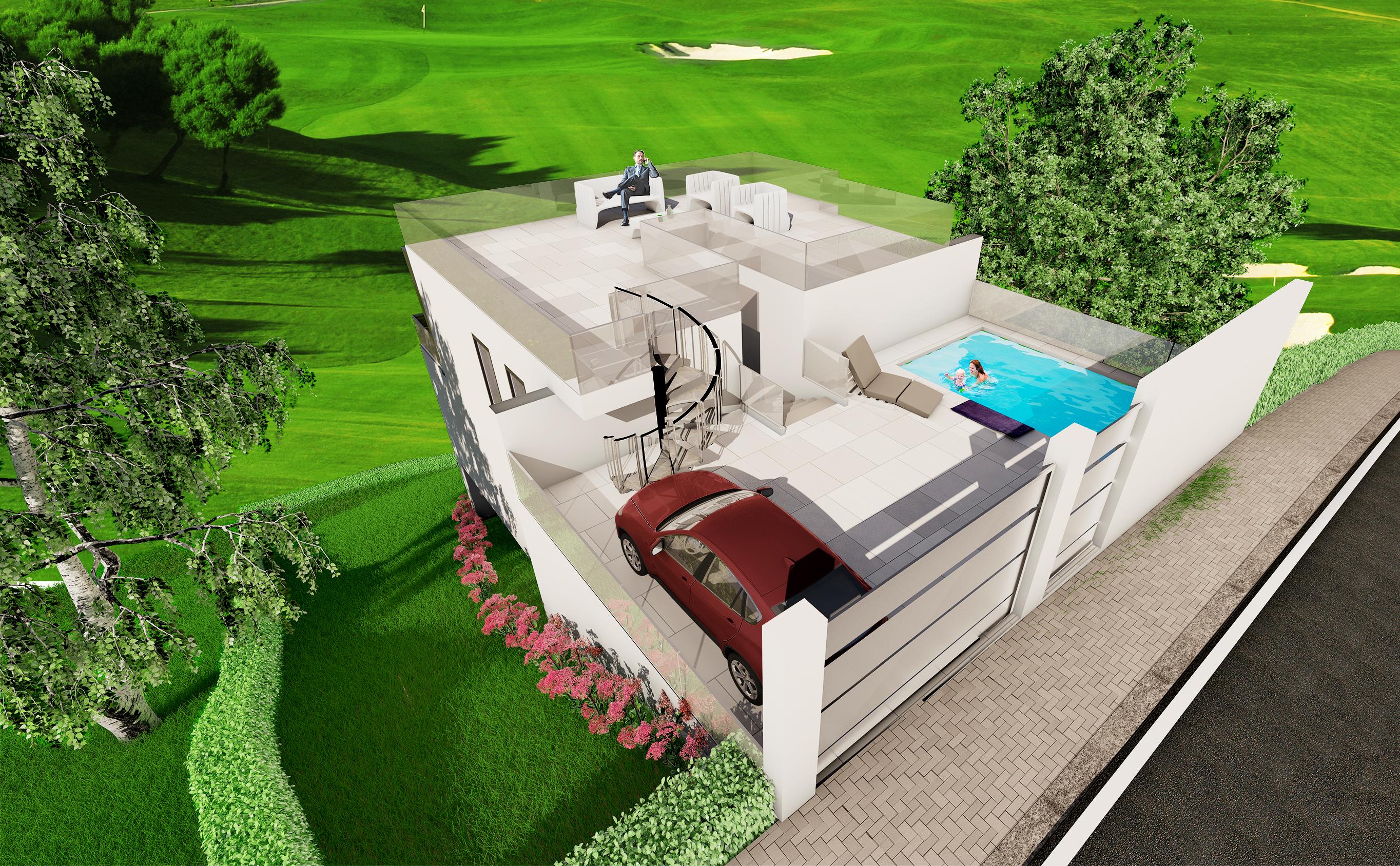 Ref:359-00132P Villa For Sale in Mijas Costa