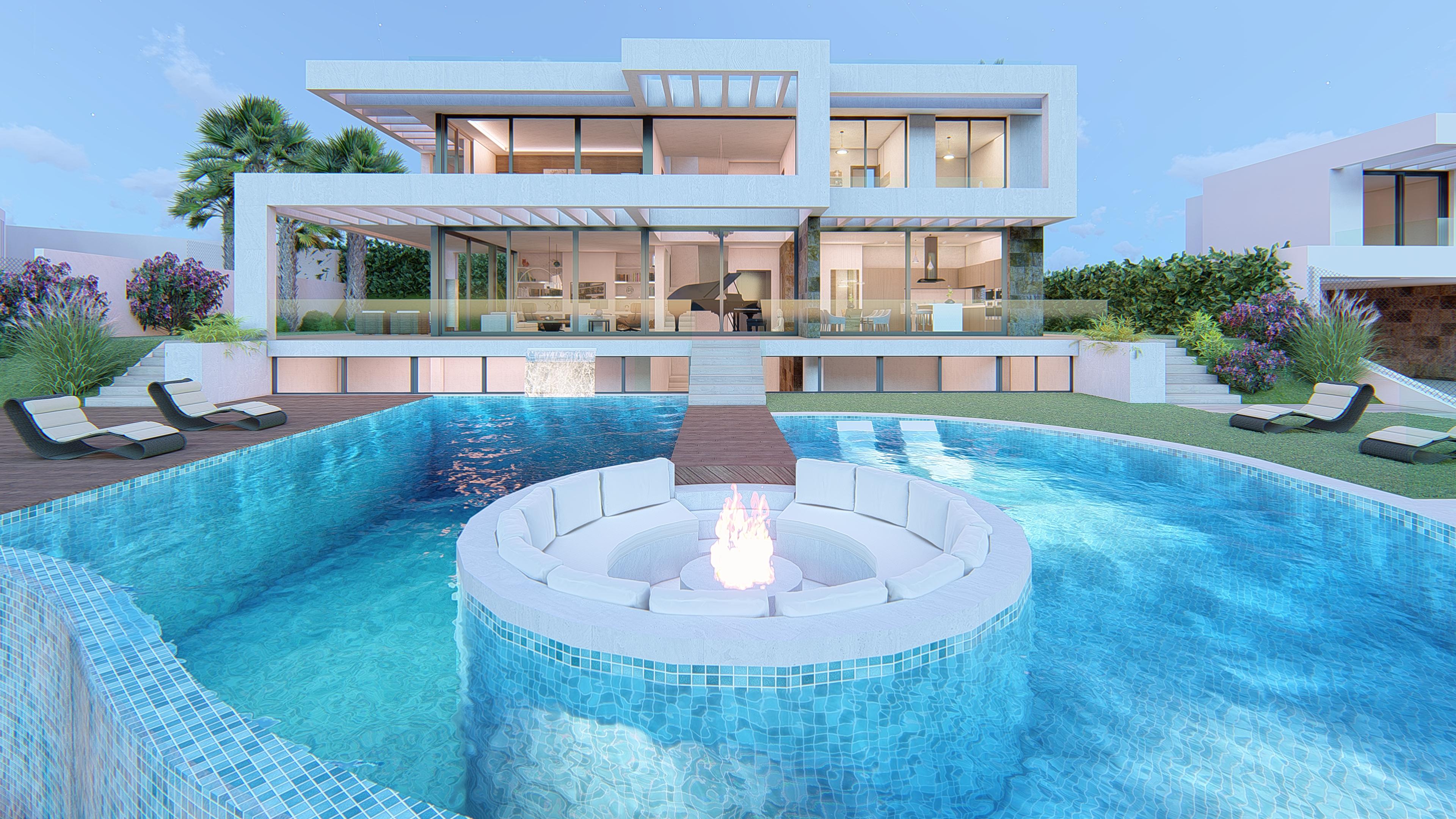Ref:359-00195P Villa For Sale in Mijas Costa