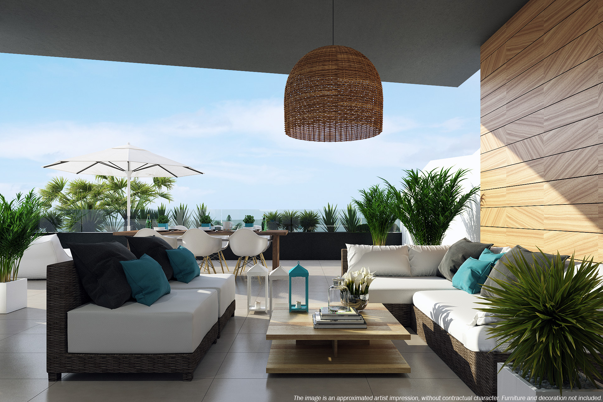 Penthouse in Los Dolses