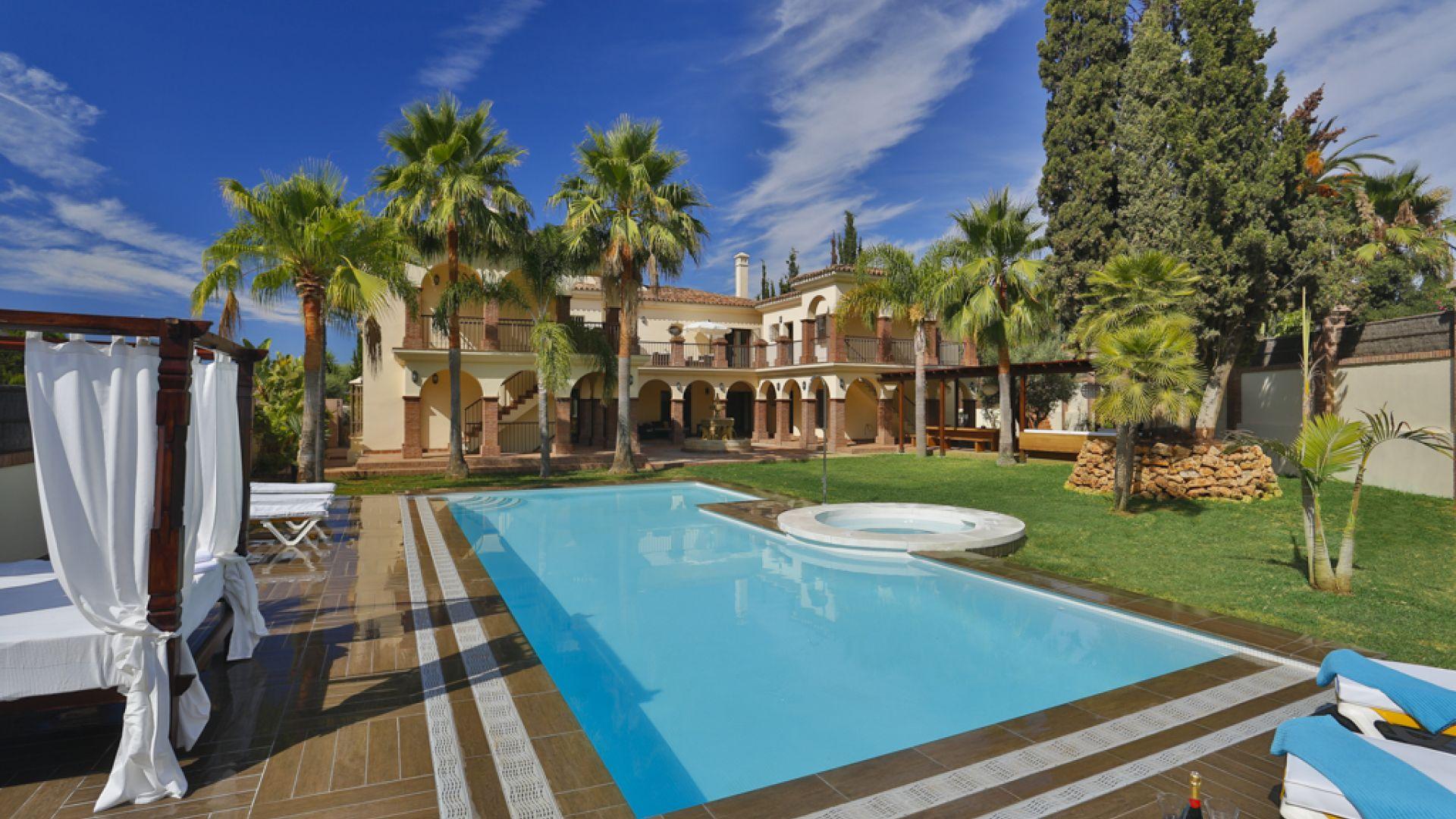 Villa for Rent in Casablanca, Marbella Golden Mile